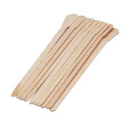 Meilleur 50 Pcs/10 pcs En Bois Épilation Cire Spatule Langue Jetable Bambou Bâtons Cheveux Enlèvement Crème Bâton Pour Épilation corps Soins Des Cheveux