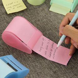 1 PC Kawaii Papier Fluorescent Autocollant Memo Pad Post It Papeterie Mini Bureau Xpress Peut Déchirer Collant Notes