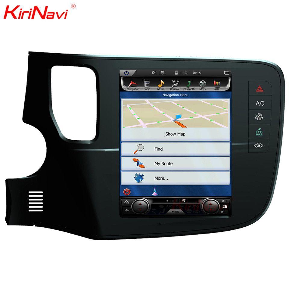 KiriNavi Vertical Screen Tesla Style Android 6.0 10.4 Car Multimedia Player For Mitsubishi Outlander Radio Navigation SystemsGPS