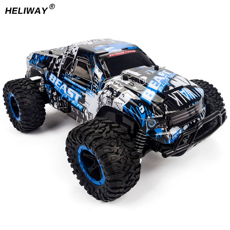 Motors Drive High Speed SUV RC Car 4CH Electric Speed RC Racing Bigfoot Buggy Radio Control Car Hummer Toy Car Model Toy For Boy