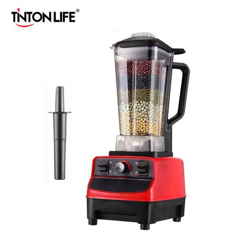 TINTON LEBEN 33000R/M BPA FREIE Kommerzielle Grade Hause Professionelle Smoothies Power Mixer Mixer Entsafter Lebensmittel Obst Prozessor