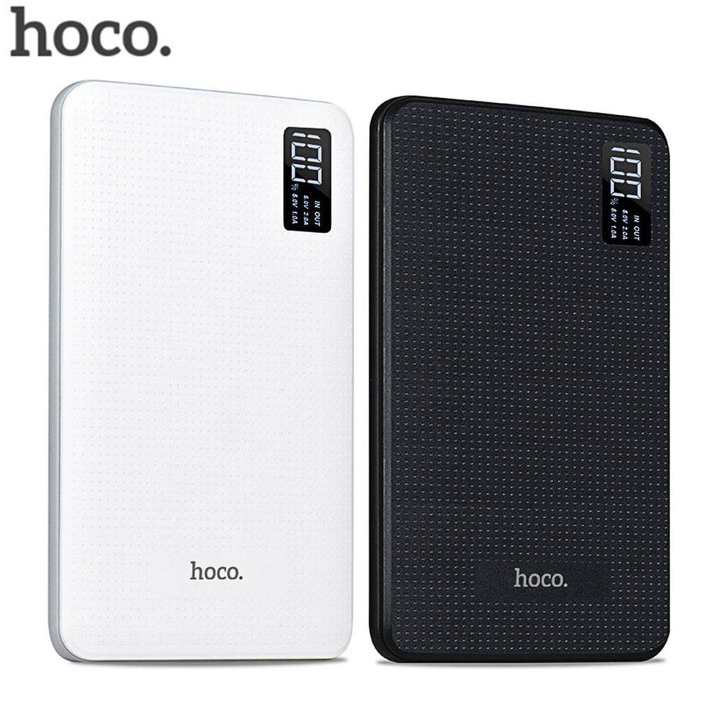 HOCO 30000mAh Power Bank Portable quick Charge Power bank 30000 mah External Battery Pack Mobile phone powerbank Digital Display