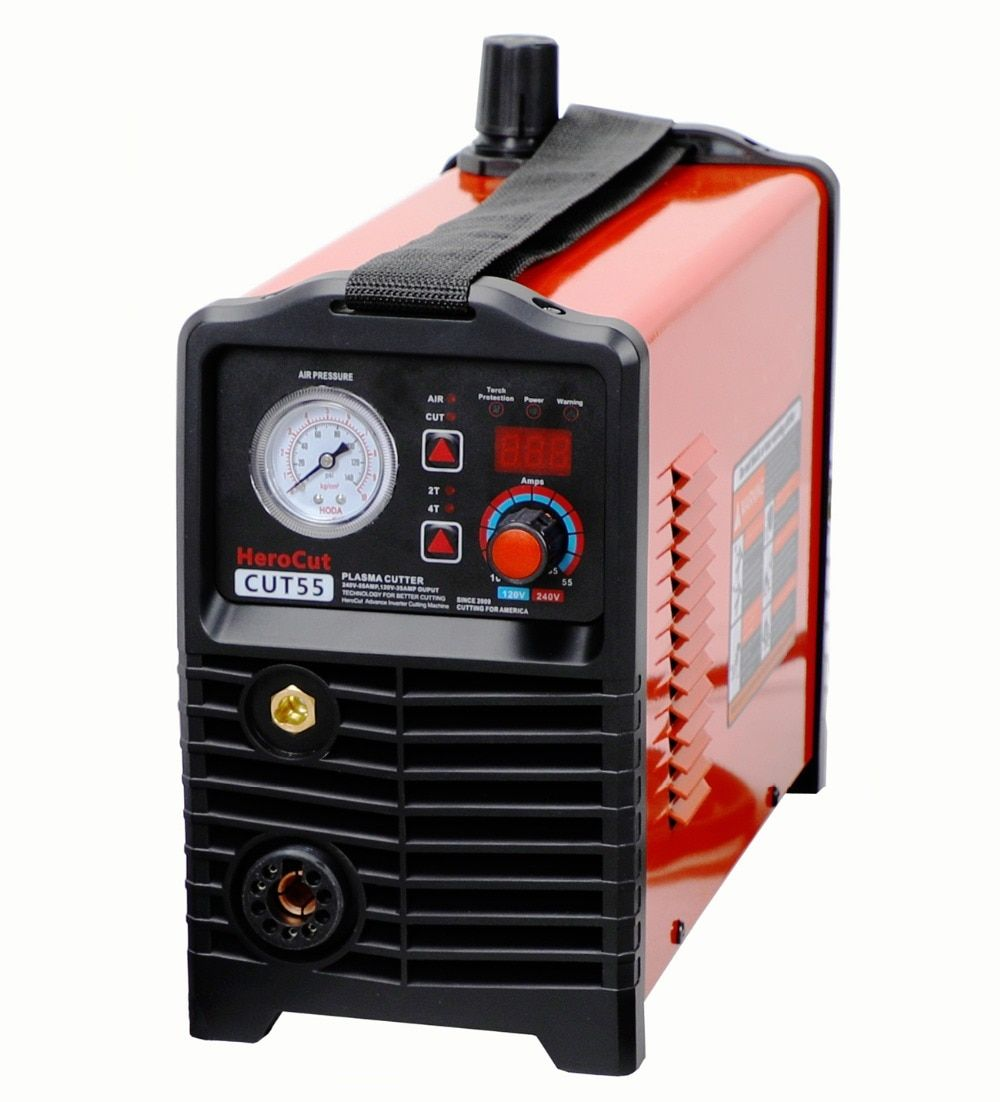 IGBT Nicht-HF Pilot Arc Cut55 Digital Control CNC Plasma Cutter Dual Spannung 120/240 v, PTM60 CNC Gerade Taschenlampe