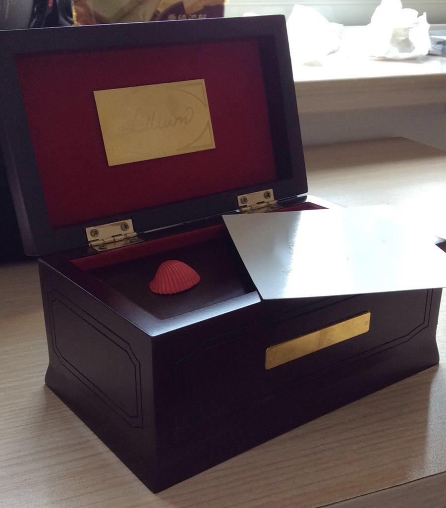 18 tons édition Lilium Elfen menti Original boîte à musique en bois, bois massif de hêtre, boîtes à musique Lilium pour amour fille cadeau de noël
