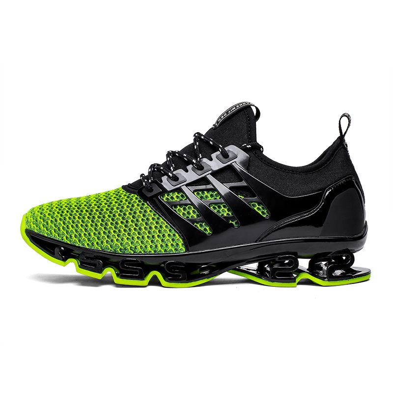 Big Size 36-46 Men Women Running <font><b>Shoes</b></font> Outdoor Breathable Jogging Sport blade <font><b>Shoes</b></font> For Men's krasovki Walking Sneakers