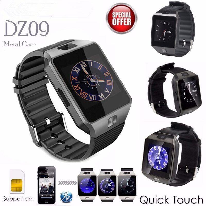 Dz09 SmartWatch умных Спорт SIM цифровой электроники наручные часы-телефон с Для мужчин для Apple, Android Беспроводные устройства