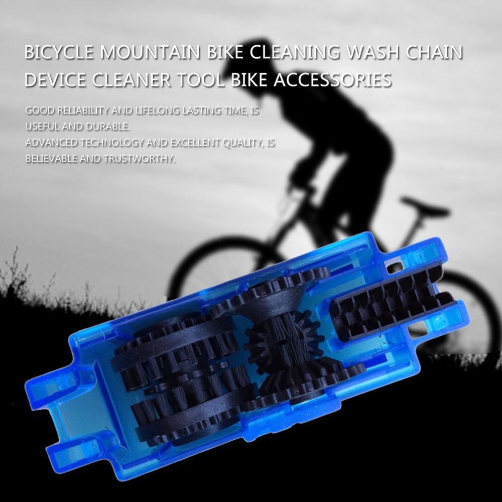 Fahrrad Reinigung Waschen Kette Gerät Cleaner Tool Mountainbike Tool Fahrrad Zubehör Conservation Wartung Radfahren Ausrüstung