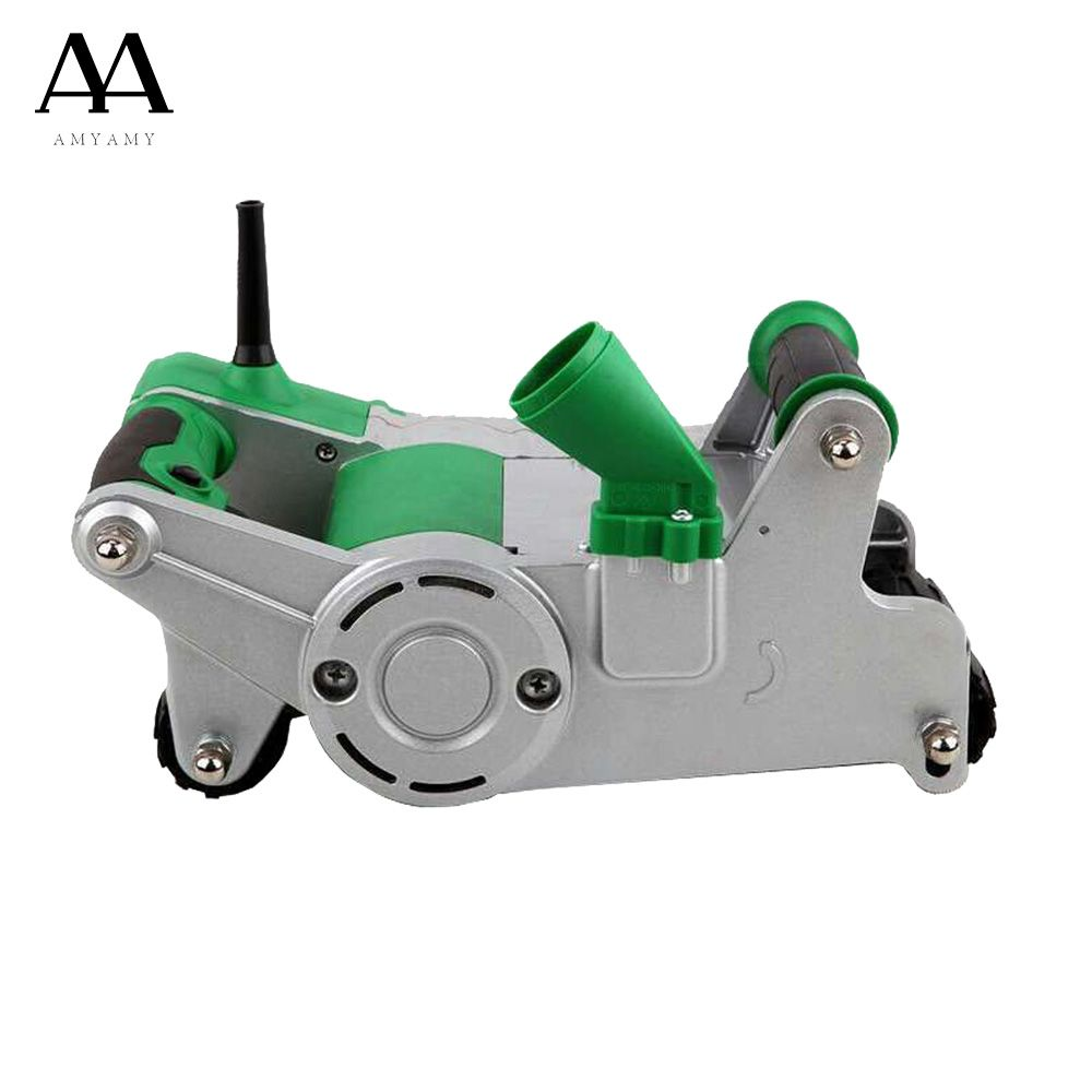 AMYAMY Heavy Duty Electric Wall Chaser Machine thin Concrete Cutter Notcher Groove Cutting Machine Tile Cutter 1100Watt 220V
