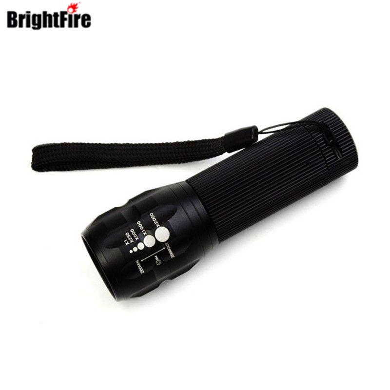 Профессиональный для Освещение! CREE Q5 Мини светодиодный фонарик 3 режима Масштабируемые свет Lanterna сильный люмен фонарик