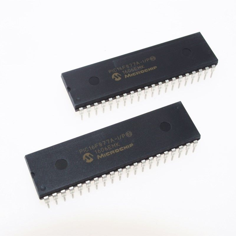 PIC16F877A-I/P PIC16F877A PIC16F877 16F877A-I/P DIP-40 Neue original IC 28/40/44-Pin Erweiterten