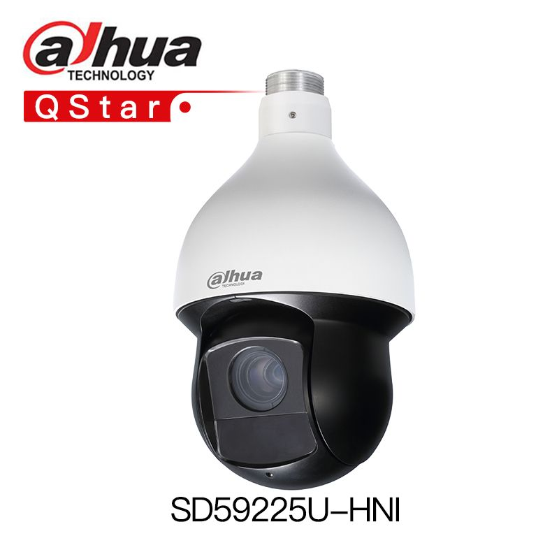 Dahua Auto tracking H.265 PTZ SD59225U-HNI 25x Zoom IP PTZ Camera 150m Starlight IR Ultra-low light WDR replace DS-2DE5225IW-AE