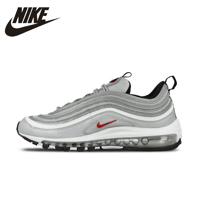 NIKE Air Max 97 OG Original Mens&Womens Running Shoes Breathable Stability Support Sports Sneakers For Mens And Womens Shoes