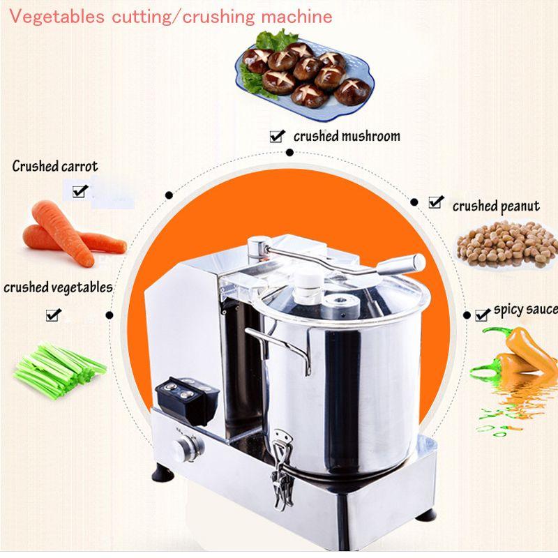 HR-6 Multifunctional food cutting machine vegetable cutting machine dumpling stuffing chopping machine 220v / 110v