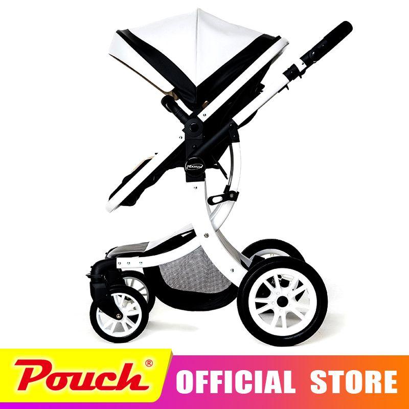 Teknum baby stroller can sit flat lying high landscape folding baby children newborn children carts