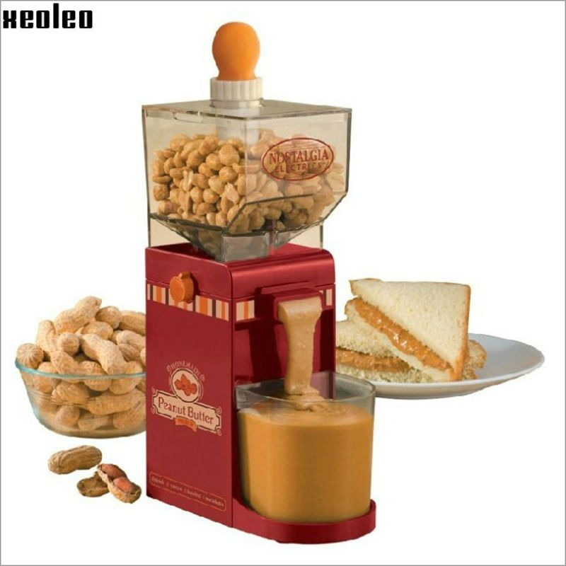 Household  Peanut butter maker Peanut butter machine make Peanut butter Milling machine 220V AU/EU/US/UK Grinding Small Grinder