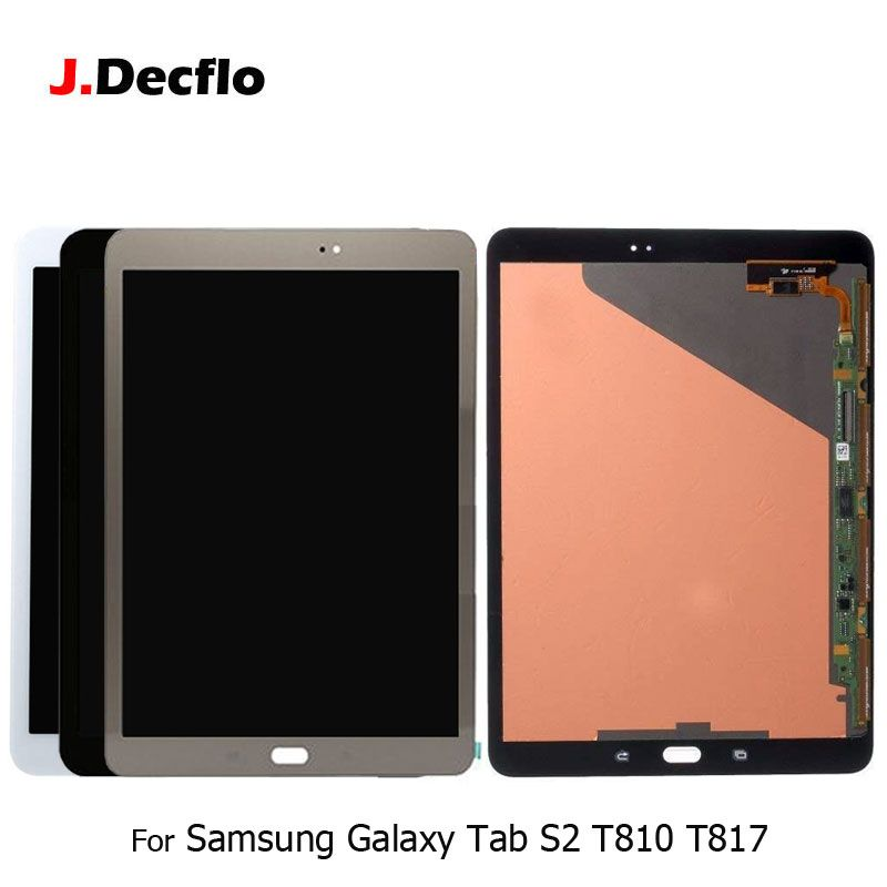 For Samsung Galaxy Tab S2 9.7 Inch T810 T815 T819 T817 LCD Display + 100% Tested Touch Digitizer Screen Glass Original