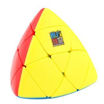 MoYu Mastermorphix Stickerless 3x3 Magic Cube Puzzle Toy - Colorful