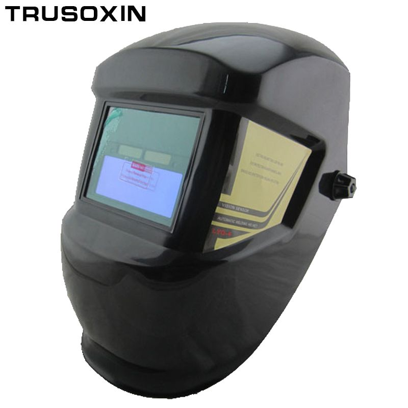Welding Parts Cool Solar Auto Darkening Welding <font><b>Helmets</b></font> Welding Mask/Eyes Goggles for MMA MIG TIG MAG Welding Machine/Equipment