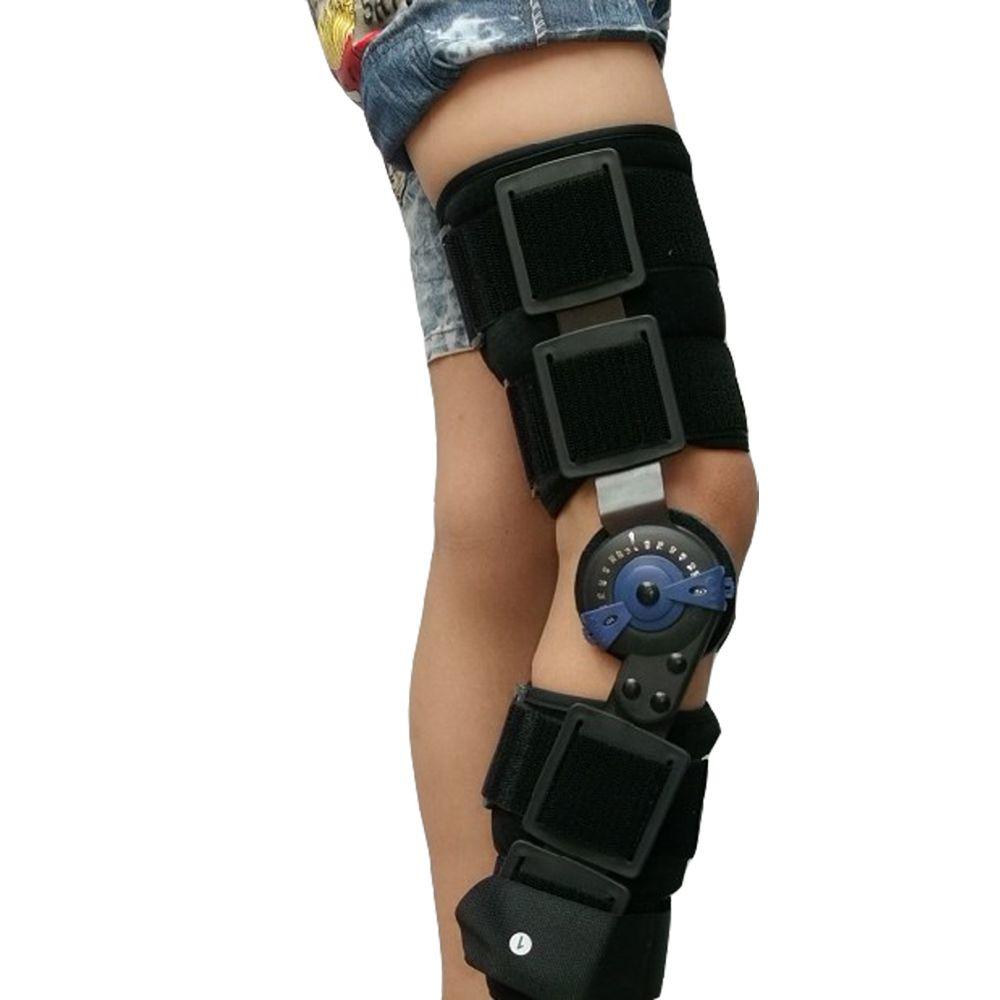 Enfants Post Op articulée genouillères ROM médical ostéoarthrite genou soutien pour les enfants avec serrure pour la pose de marche et les Sports