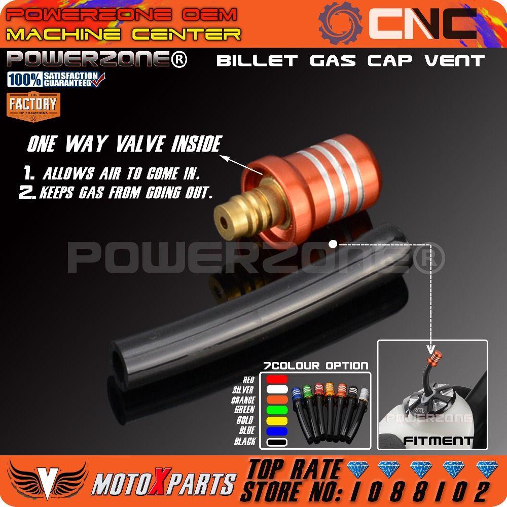 CNC Fuel Tank Air Vent Gas Cap oil Vent For KTM SX F EXC ADV CRF YZF WRF KXF RMZ 125 250 300 350 450 990 MX SMR Racing Enduro