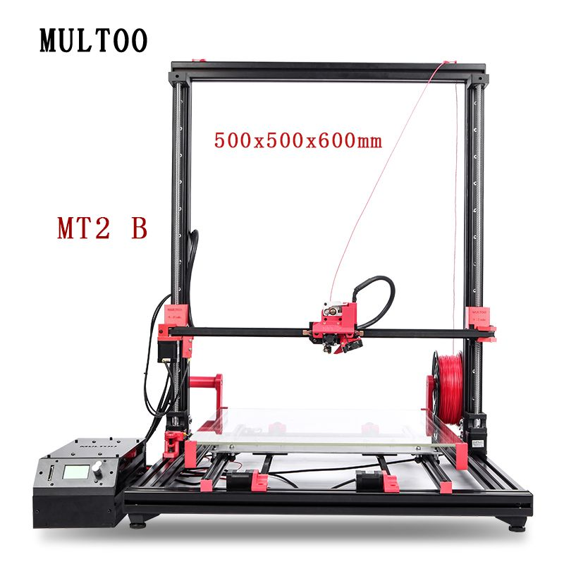 MT2 MULTOO Open Source High Quality Precision Large Printing Size High temperature Low price 3D Printer Precise High-precision