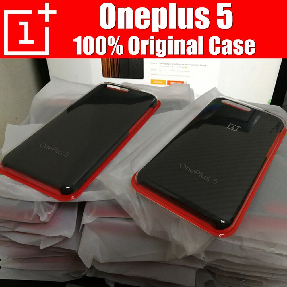 Oneplus 5 case original 100% from oneplus company official Sandstone back cover for One plus 5 funda Oneplus 5t cases
