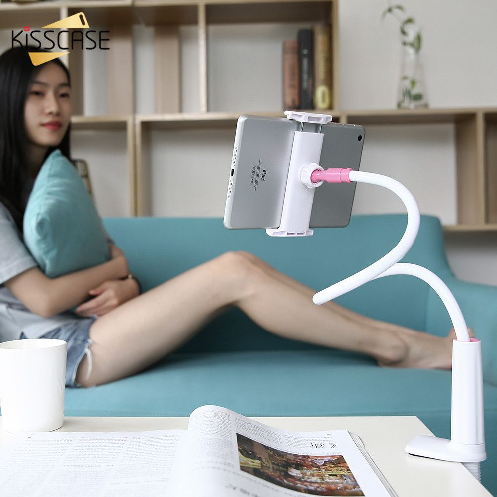 KISSCASE Universal Phone Holder Stand For iPhone Samsung Huawei For iPad <font><b>Desk</b></font> Tablet PC Stands Support Mobile Phone Holder Cool