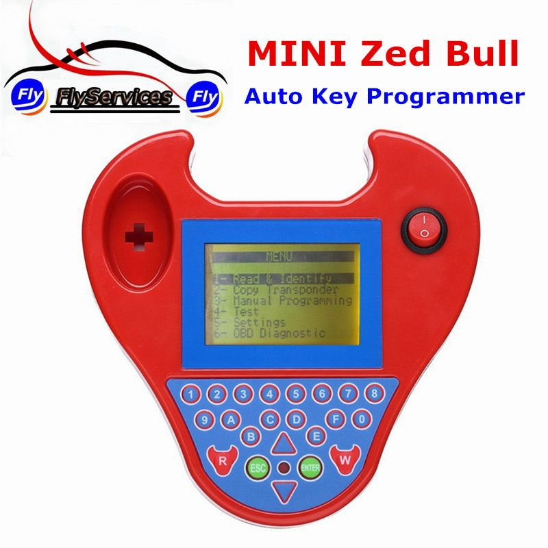 Latest Version V508 Super Mini Zedbull Smart Zed-Bull Key Transponder Programmer MINI ZED BULL Key Programmer