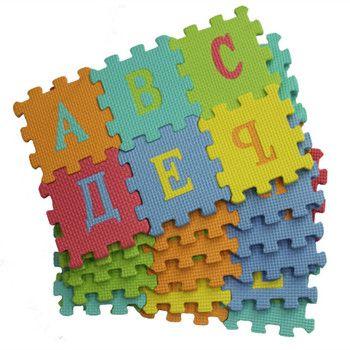 36Pcs RUSSIA LANAGUE Environmentally EVA Foam puzzle Arabic Play Mat Puzzle Floor Mats Baby Carpet Pad Toys For Kids