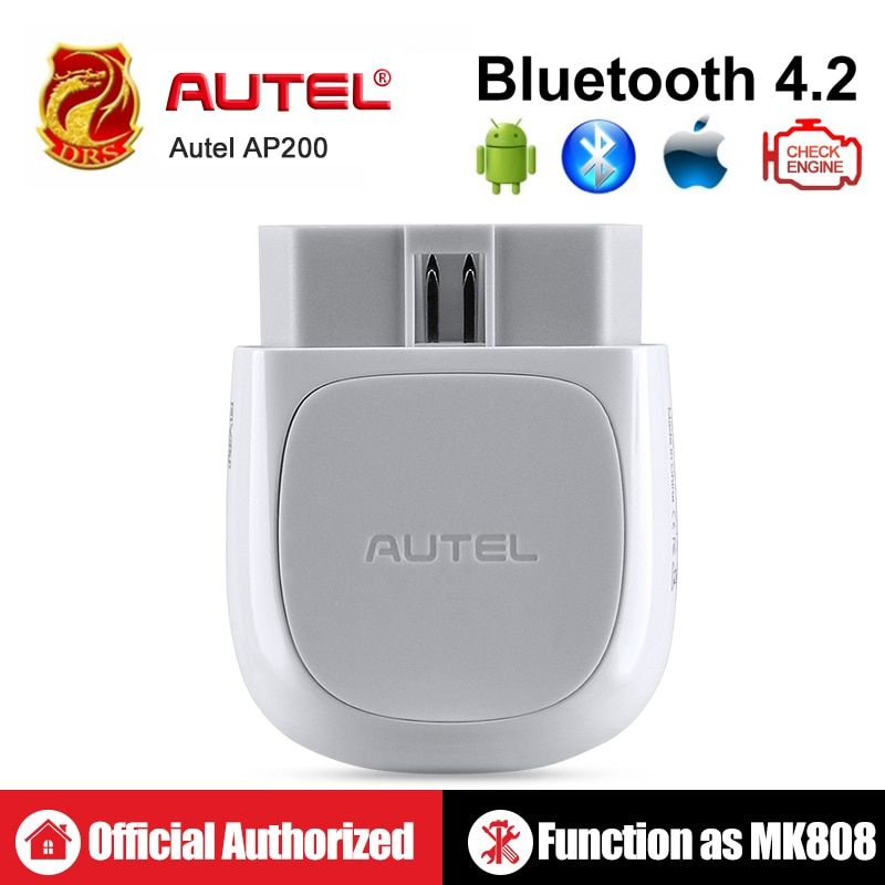 Autel AP200 Bluetooth OBD2 Scanner Code Reader Full System-Diagnose-Tool AutoVIN EPB BMS SAS TPMS DPF IMMO PK MaxiCOM MK808