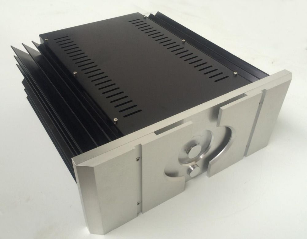 New Pass A aluminum amp chassis /home audio amplifier case (size 430*430*170MM)