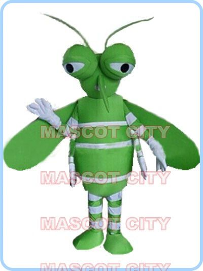 MASCOT Green Mosquito mascot costume custom fancy costume anime cosplay kits mascotte fancy dress carnival costume