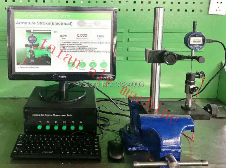 CR3-C Common Rail Injector valve stroke measuring system, common rail test bench