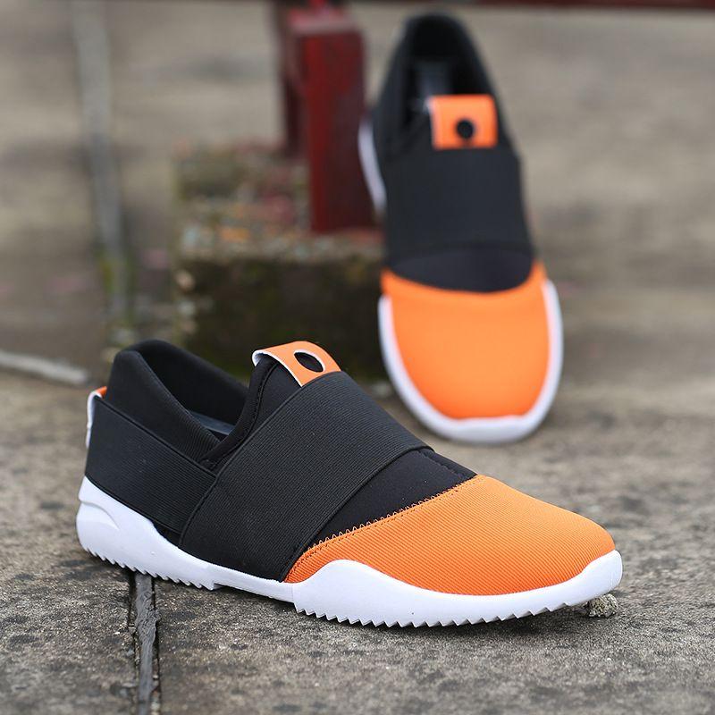 Zapatos corrientes de los hombres del duende de la noche los hombres de la alta calidad Zapatillas Zapatos deportivos de malla transpirable hombres aire 2017 Nuevo correr zapatillas