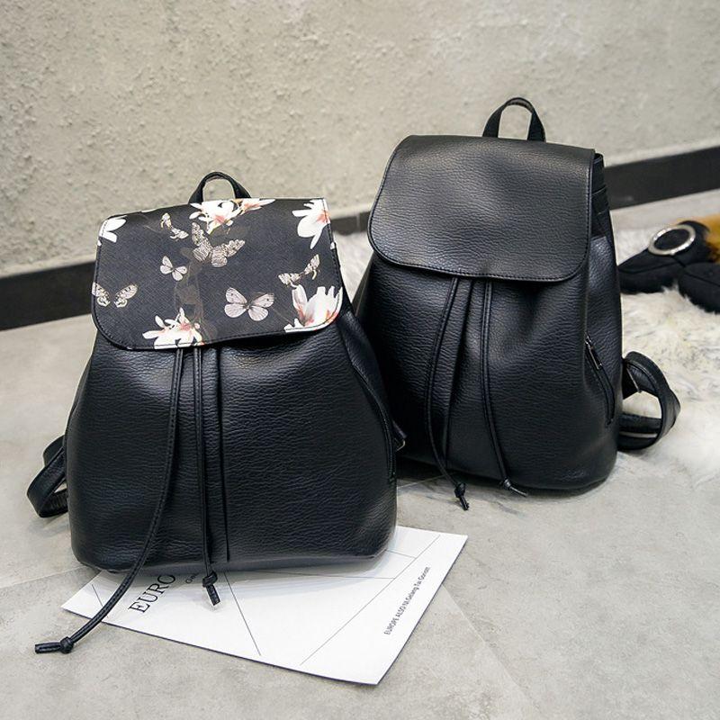 Fleur modèle femmes sac à dos chaîne Designer doux PU cuir dames sac à bandoulière femme sacs à dos sacs de voyage Softback Mochila