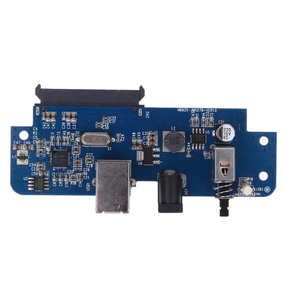USB 3.0 à SATA Adaptateur Convertisseur Carte pour 2.5 pouce/3.5 pouce SATA HDD Disque Dur Disque Extender Riser Card Adaptateur Avec Câble