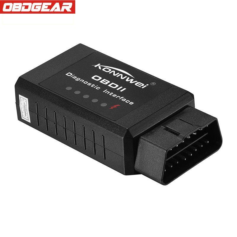 KONNWEI KW910 ELM327 Bluetooth OBD2 lecteur de Code moteur OBD2 Scanner outil de diagnostic automatique obd 2 Scanner V1.5 PIC18F25K80 odb2