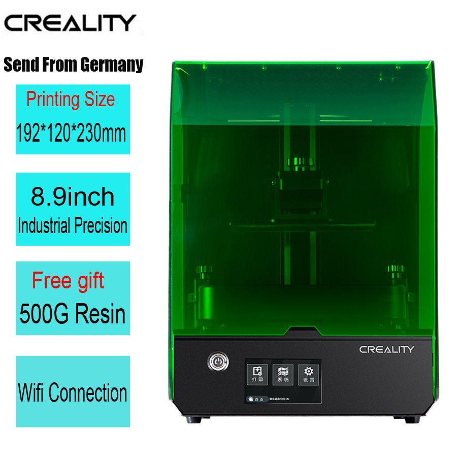 Creality Neue SLA/DLP/LCD 3d drucker größte druck volumen 192*120*230mm hohe präzision impresora 405nm UV harz