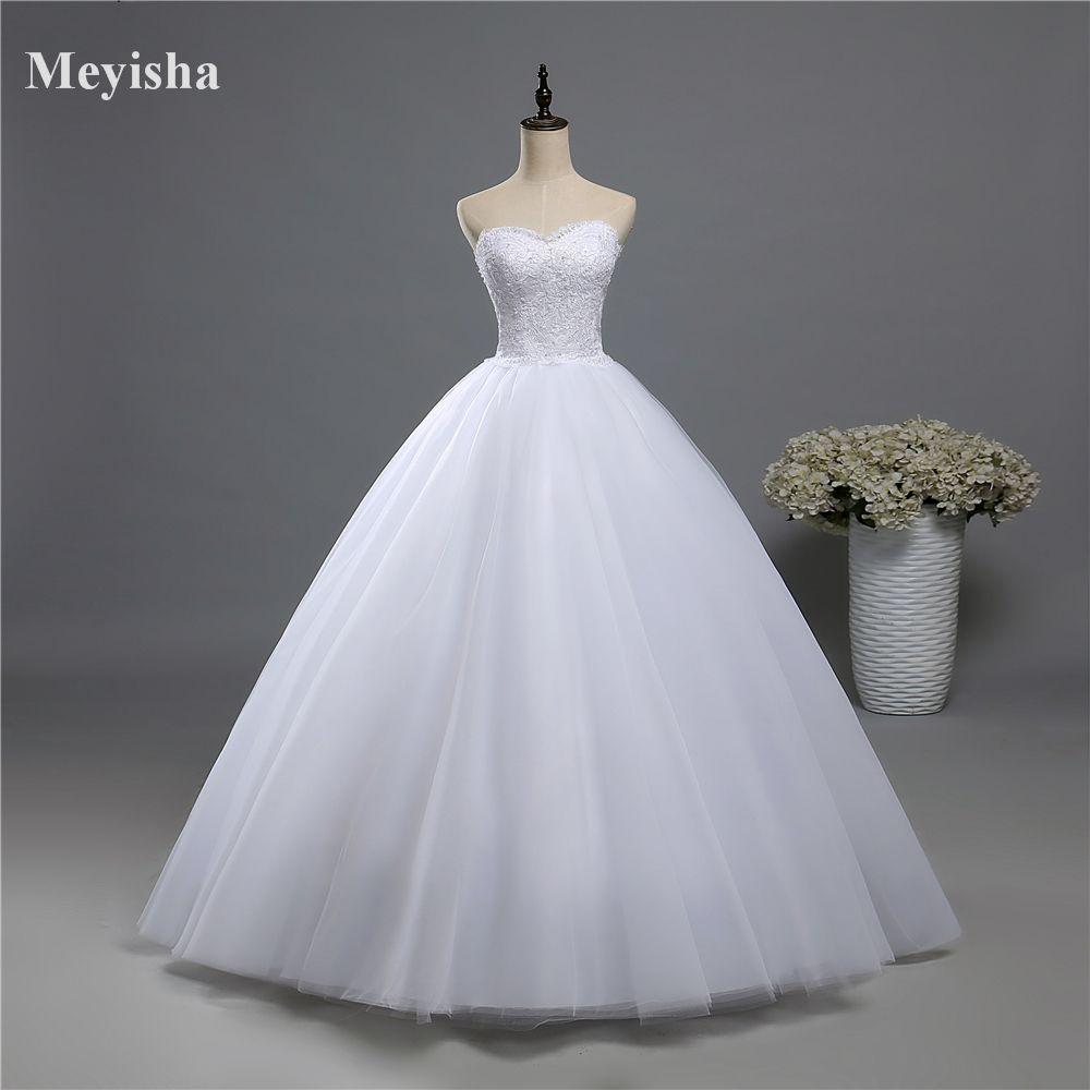 ZJ9022 2016 fashion Beads Crystal White Ivory Wedding Dress for brides plus size formal sweetheart 2-16W/18W/20W/22W/24W/26W/28W