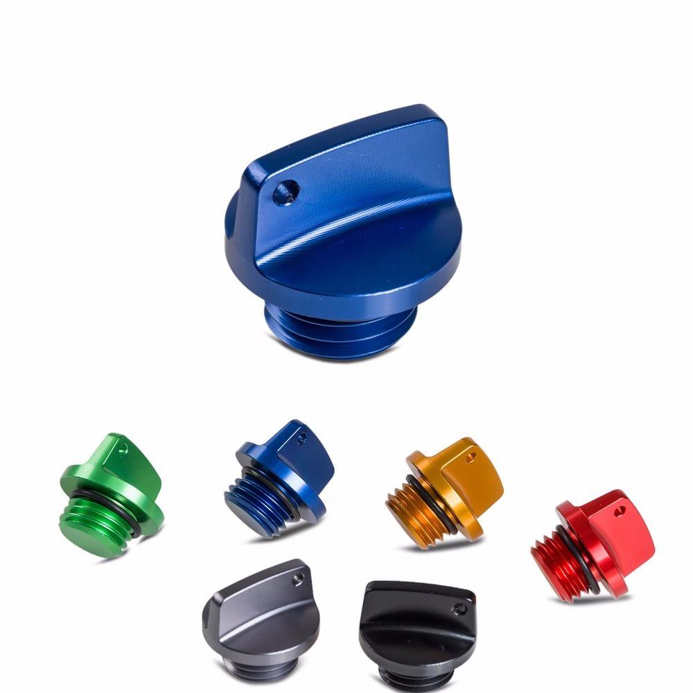 NICECNC Oil Filler Cap Plug For Yamaha TMax MT FZ FJ 09 XSR900 YZ 80 85 125 250 125X 250X 250FX 450FX WR 250F 450F 250R/X YFZ450