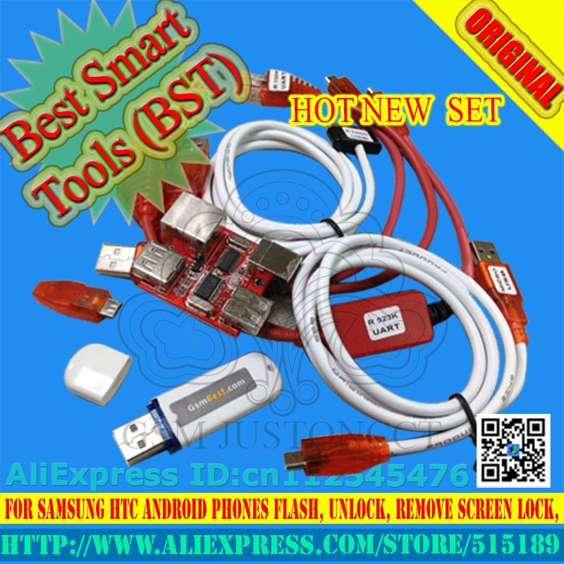 gsmjustoncct BSTdongle for HTC SAMSUNG unlock screen S3 S5 9500 lock repair IMEI read NVM/EFS ROOT record date Best Smart dongle