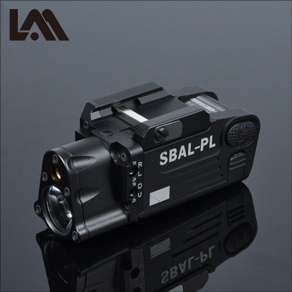 Taktische CNC Fertig SBAL-PL Waffe licht Taschenlampe Combo Rot Laser Pistole Gewehr Konstante & Strobe Pistole Licht CZ 75