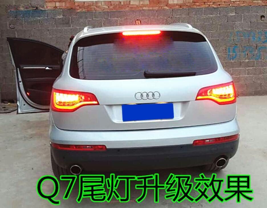 Ein set 2 stücke auto styling für 2011 ~ 2015/2006 ~ 2010 jahr Q7 Rückleuchten rückleuchten LED Q 7 q7 Schwanz Lampe Hinten Lampe
