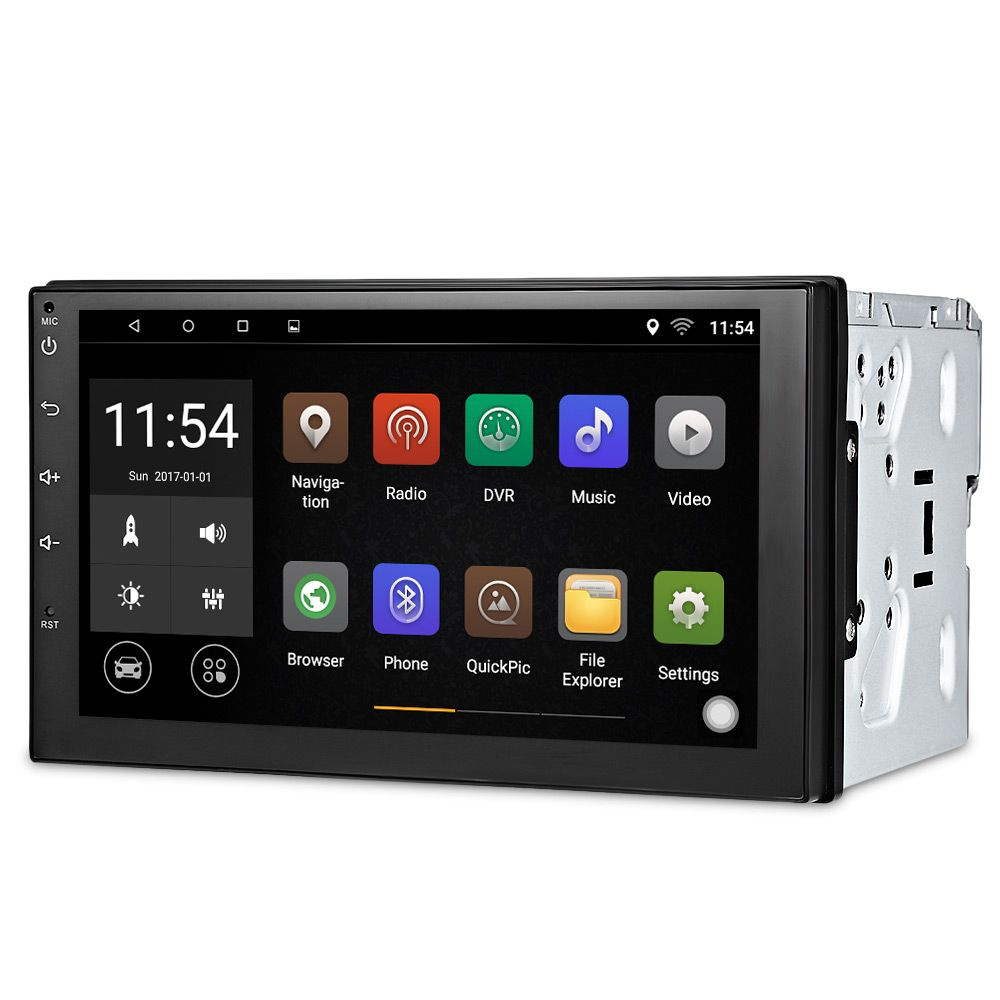 Zeepin 2 Din Car Radio Player 7003 7'' GPS Navigation Bluetooth Android 6.0 Car MP5 Player Steering-wheel Rear View Camera WiFi
