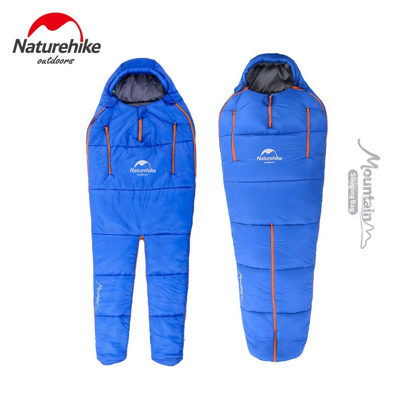 Naturehike Sleeping bag Body shape adult outdoor Sleeping bag waterproof NH Camping Travel sleeping bags Comfortable large space