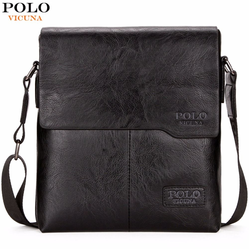 VICUNA POLO Men Shoulder Bag Classic Brand Men Bag Vintage <font><b>Style</b></font> Casual Men Messenger Bags Promotion Crossbody Bag Male Hot Sell