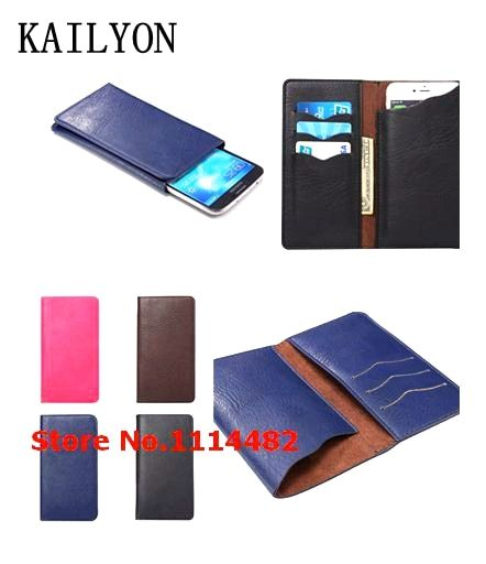 Case for Oukitel K6000 Pro  Fashion Luxury Cover Flip Leather Wallet Stand Card Holder Case 4 Colors