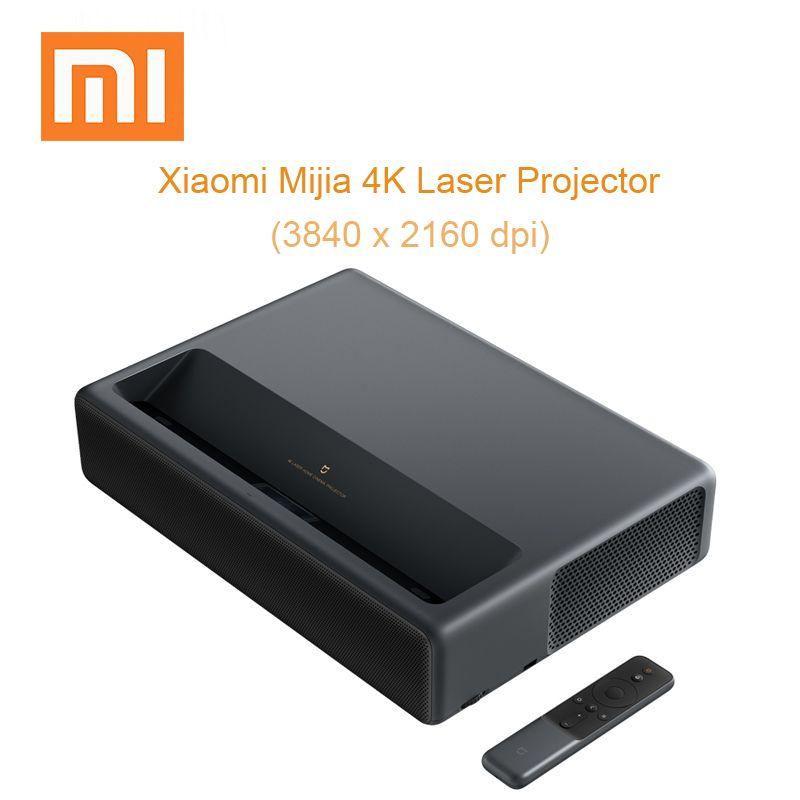 Xiaomi Mijia Laser Projektor 4 K Projektion TV Heimkino Proyector Unterstützung HDR DOLBY DTS mit Wifi Bluetooth 3D Projektor