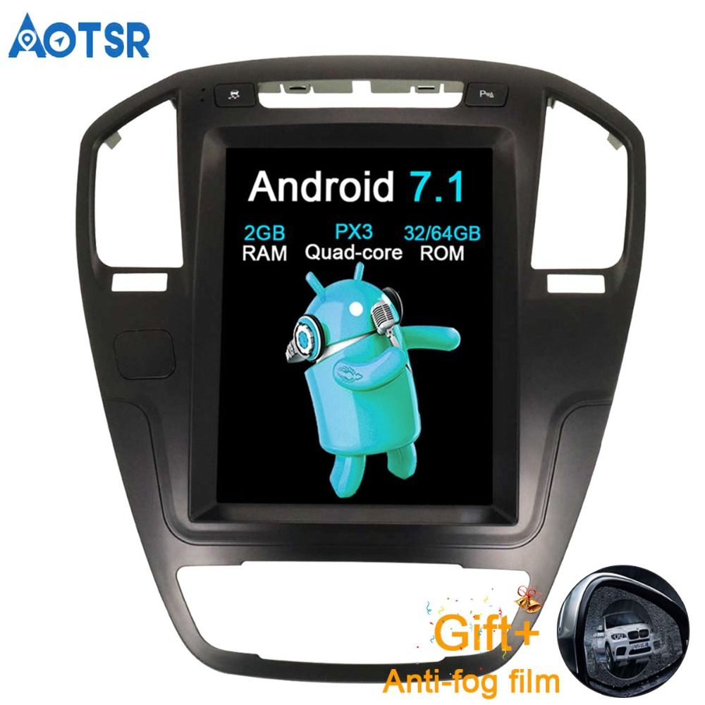 Aotsr Android 7.1 Auto GPS Navigation auto keine DVD Für Opel Insignia Vauxhall Holden Stereo Steuergerät Sat Nav multimedia 2G + 64G
