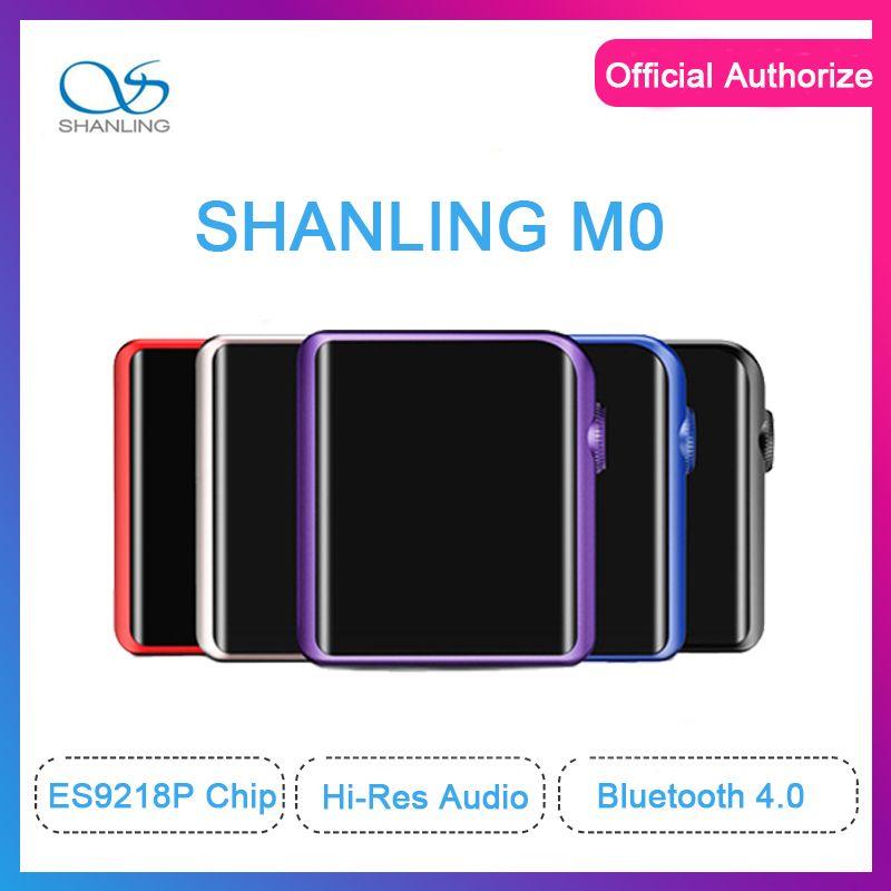 SHANLING M0 ES9218P mp3 player 32bit /384kHz Bluetooth AptX LDAC DSD MP3 FALC Portable Music Player Hi-Res Audio